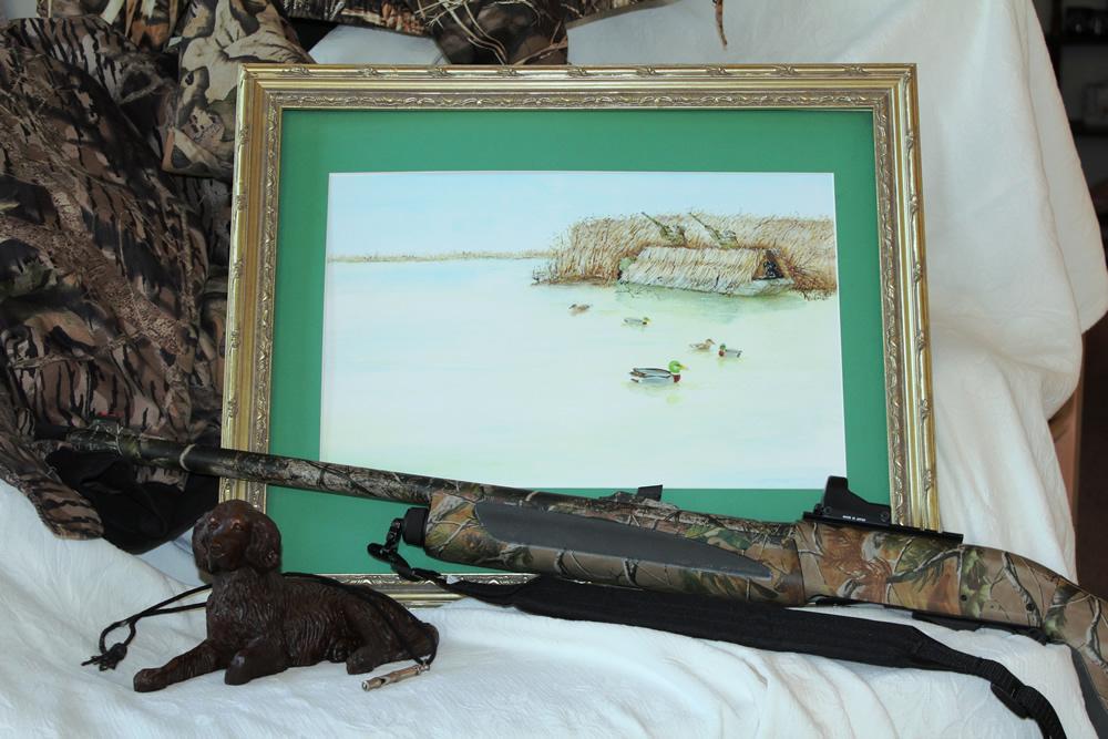 Duck Hunting Print