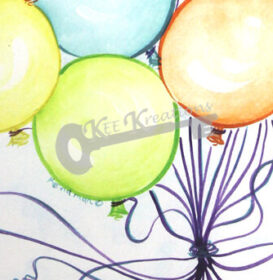 Party Balloons Closeup